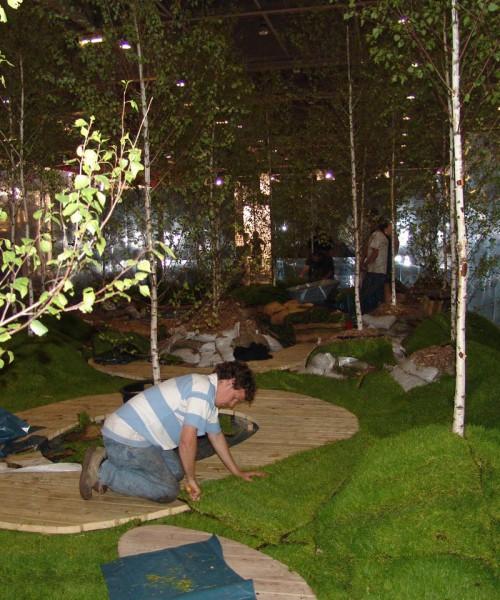 Grand Designs: Diarmuid Gavin show garden