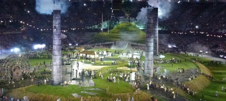 London 2012 Olympics: opening ceremony