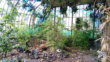 Bombed conservatory